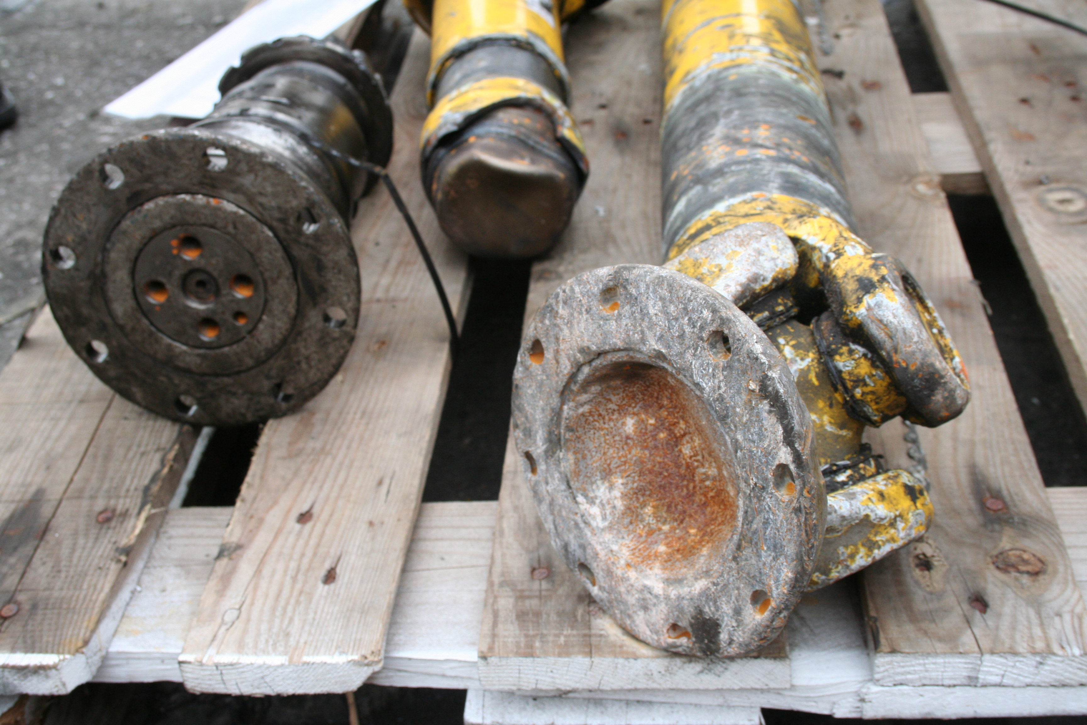 Rail Cardan shaft