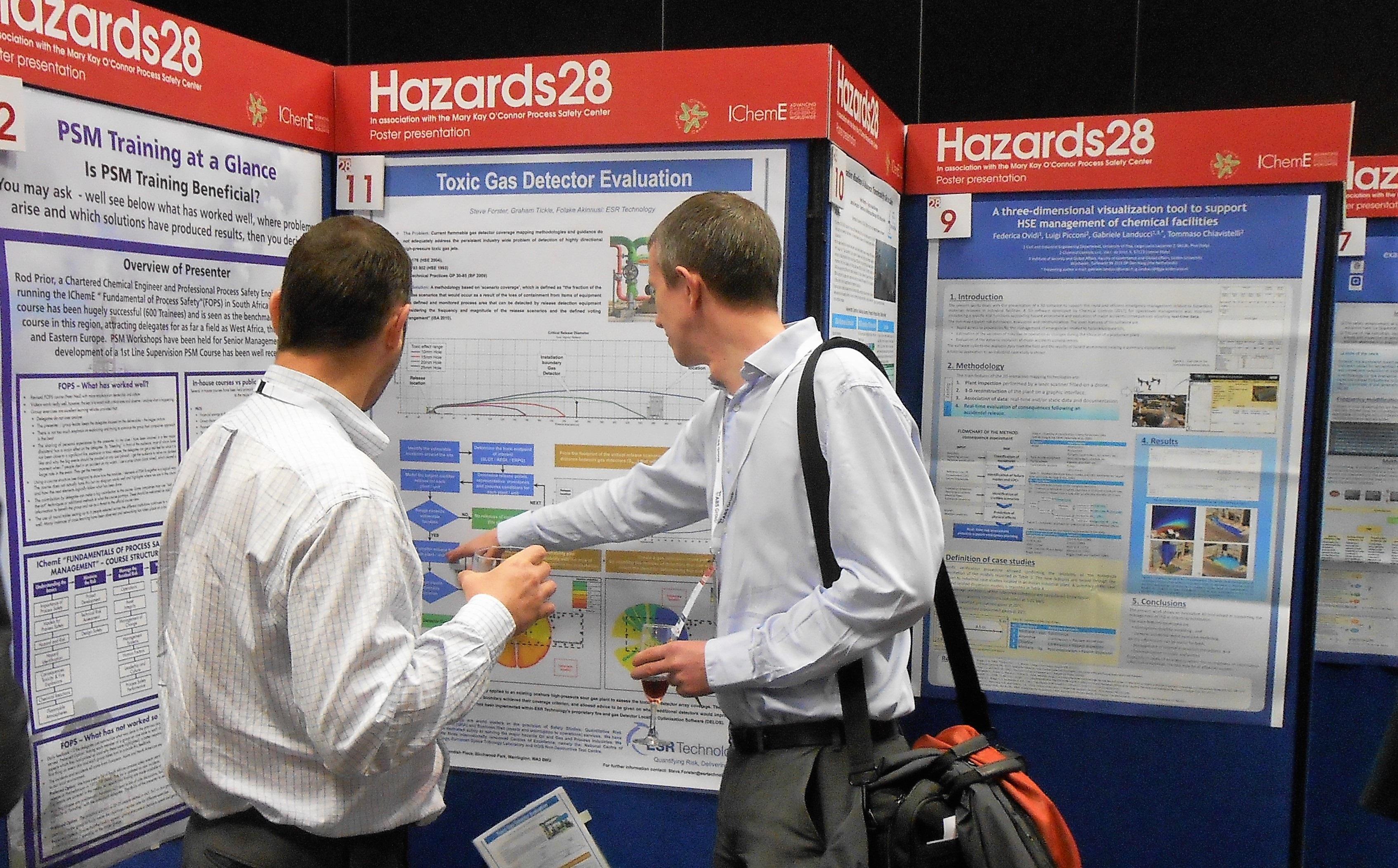 Exhibition Stand Evaluation : Esr technology presents at hazards